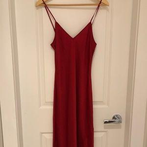 Wilfred Only Slip Dress Slinky midi slip dress